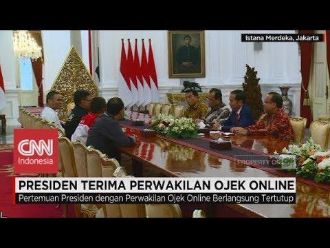 Presiden Jokowi Terima Perwakilan Ojek Online - Demo Ojek Online di Istana Mp3