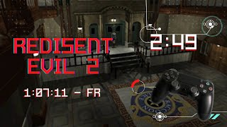 RESIDENT EVIL 2 PSX PAL LEON A NORMAL SPEEDRUN 1H07.11