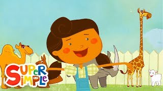 Download Mary Had A Little Lamb | Animal Song | Super Simple Songs Mp3 and Videos