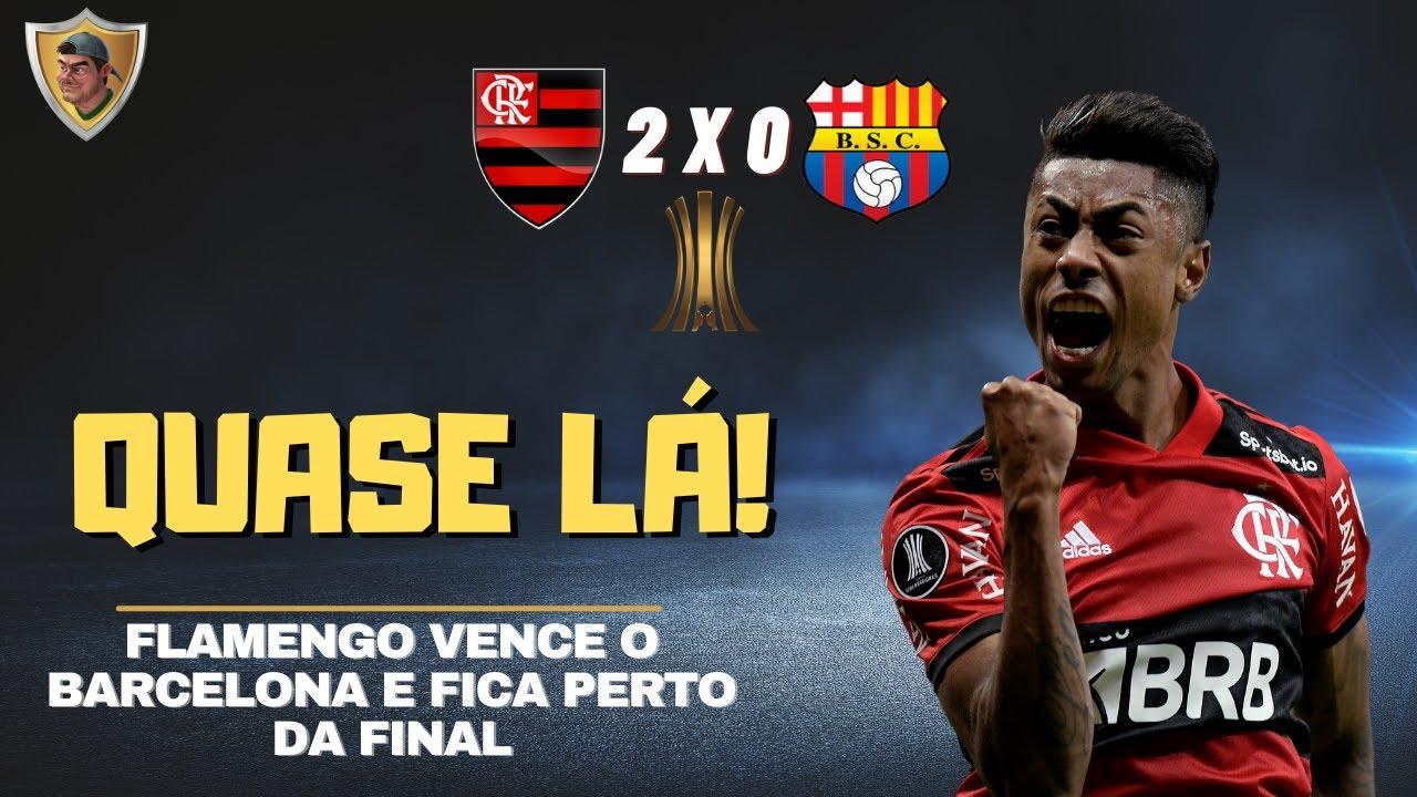 Flamengo 2x0 Barcelona - Quase lá!