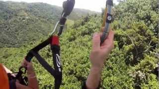 Paragliding in Morovis, Puerto Rico