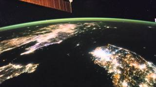 North Korea Looks Strangely Dark From Space In Asia Fly-Over | Video Free HD Video