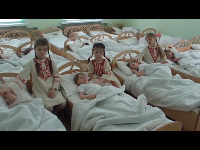 """Изображение предпросмотра прочтения – «МБДОУ """"Детский сад № 183 """" г.о. Самара» читают произведение «Колыбельная. Баю - баюшки-баю!» (Русский фольклор )"""