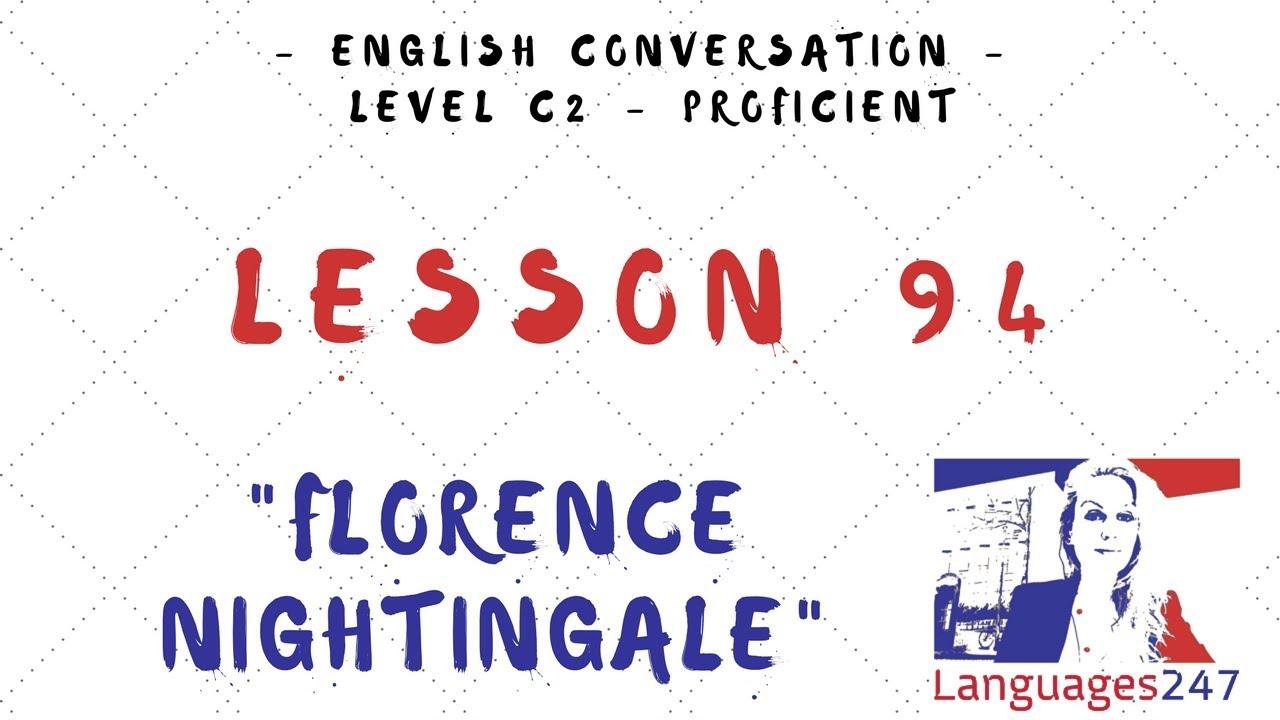 Lesson 94 Florence Nightingale Deutsch 247