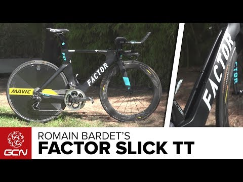 Romain Bardet's Factor Slick Time Trial Pro Bike   Vuelta A España 2017