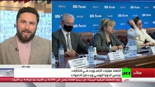 النتائج الأولية لانتخابات مجلس الدوما الروسي