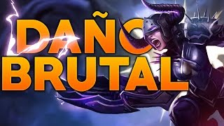 DAÑO BRUTAL | SHYVANA JUNGLA S7| League of Legends