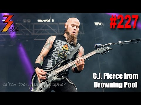 Ep. 227 C.J. Pierce from Drowning Pool Joins Us to Talk About His Love For KISS