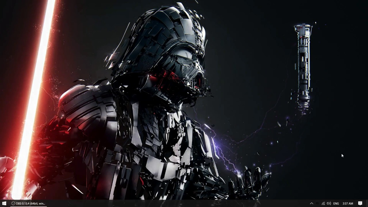 Darth Vader Wallpaper Engine - YouTube