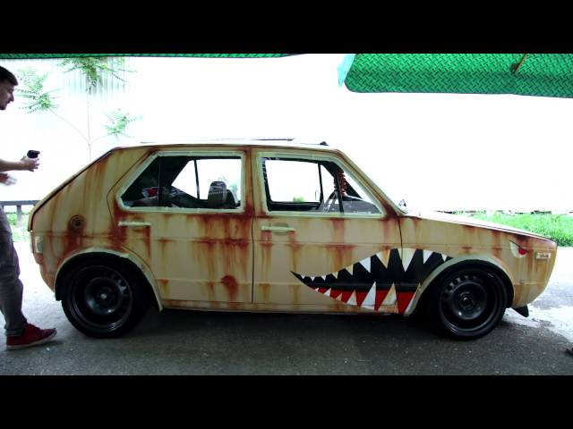 VW Golf mk1 / Rat Style by Džej Ár