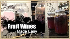 Fruit Wines Made Easy