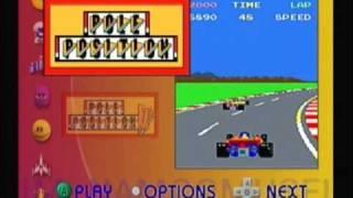 Namco Museum (GameCube Version) Games