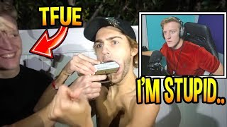 Tfue Regrets Getting DRUNK & Shooting His Friend In The Face *IRL* Fortnite Moments