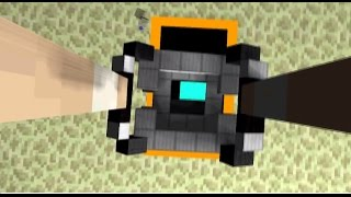 Minecraft Animation - Portal 2 ending ( Part 1 )