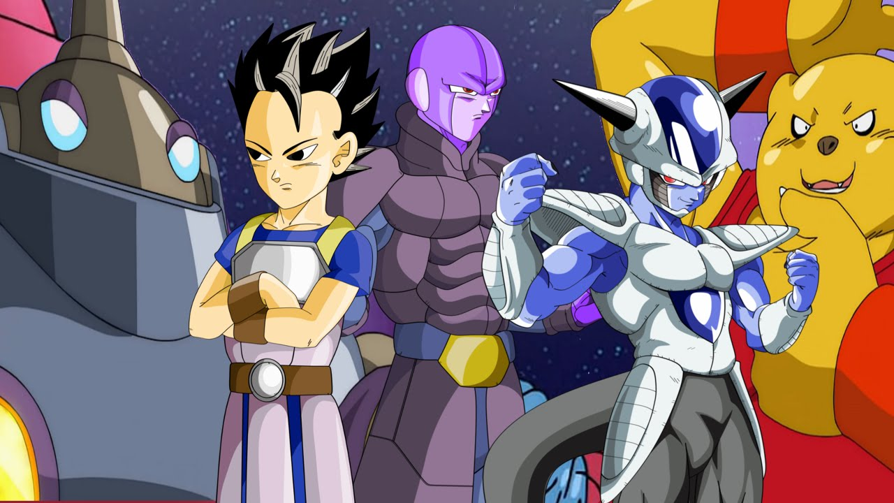 Universe Six Fighters Finally Animated Dragonball Super