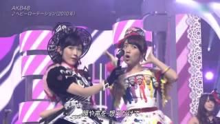 AKB48   Heavy Rotation @ Best Artist 2014  Colorful Monster