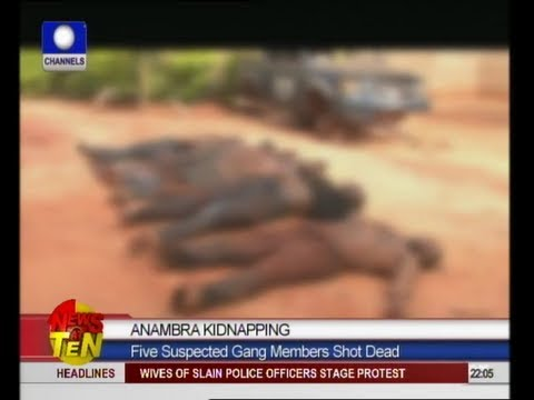 Police Kill Five Kidnappers In Anambra