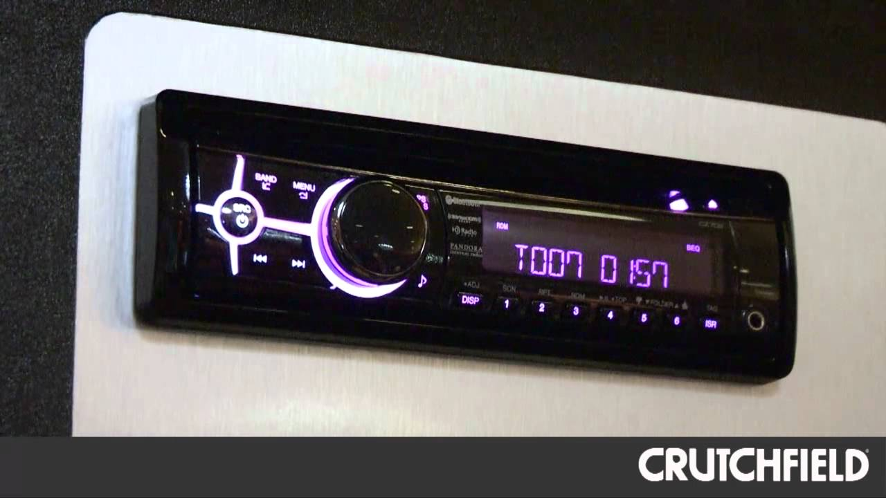 Clarion CZ702 CD Receiver Overview | Crutchfield Video
