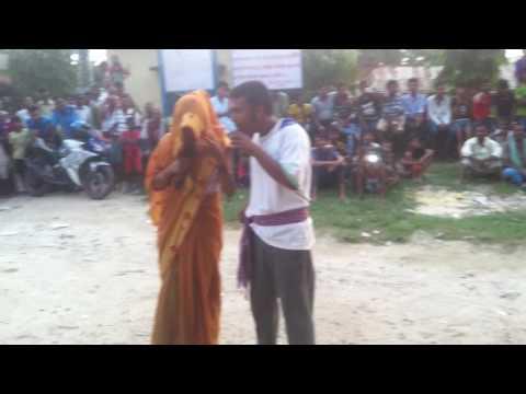 Steet drama on child marriage part 2 by district child club saptari