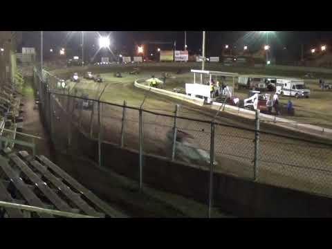 Midget Feature at Belle-Clair Speedway 4-20-18