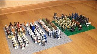 """Обзор на коллекцию минифигурок LEGO Star Wars #1 """"Галактическая Республика и Сепаратистский Альянс""""."""