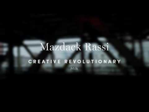 Revolutionary by Design: Milk Studios' Mazdack Rassi
