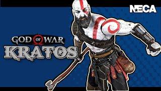 NECA God of War 4 Ultimate Kratos | Video Review