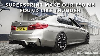 Baixar Developing a full Supersprint Exhaust for our F90 M5