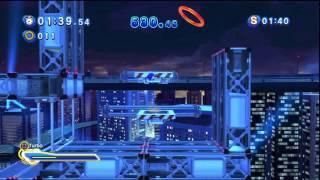 Sonic Generations - Speed Highway Acte 2 - Défi 5 : Espio - Maître du Camouflage