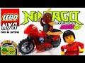 Motos LEGO Ninjago NYA. Motos de juguete para niños en vídeo animación Stop Motion