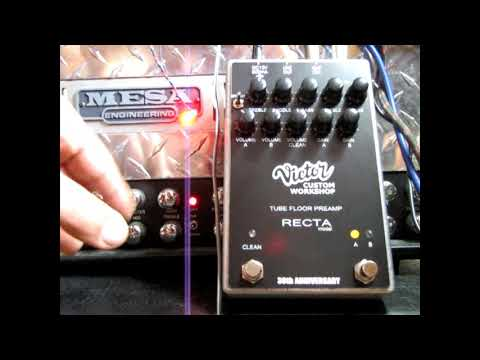 VICTOR  CUSTOM  RECTA  PREAMP Vs MESA DUAL RECTIFIER