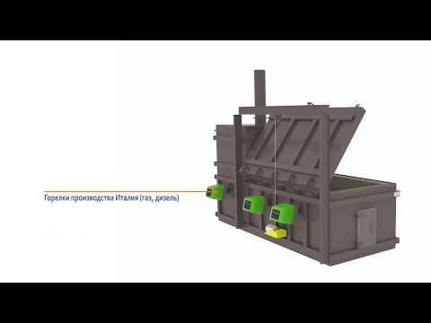 Инсинераторы Гейзер ИУ. Технология термического обезвреживания отходов III-V класса опасности