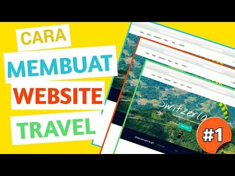 cara-membuat-website-sendiri-dengan-css-|-travel-website-development-(part-#1)