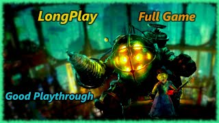 BioShock 1 - Longplay (Remastered) (Saving All Little Sisters) Full Game Walkthrough (No Commentary)