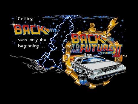 Back to the Future Part II (Amiga 50Hz) - Intro / Attract Mode