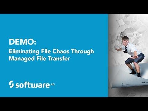 webMethods Wednesday: Live Demo: Eliminating File Chaos Through Managed File Transfer