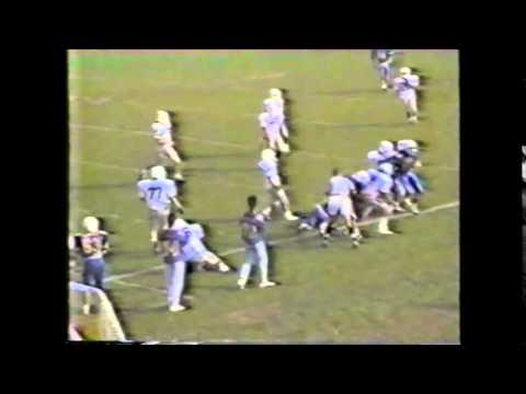 Oceanside, NY vs. East Meadow HS Football 1989