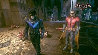 Batman: Arkham Knight  - Nightwing and Robin Team Up