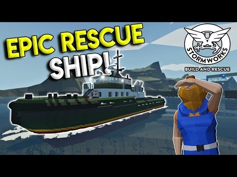 COAST GUARD RESCUE SHIP, PLANE CRASH, and More! - Stormworks: Build and Rescue Update Gameplay