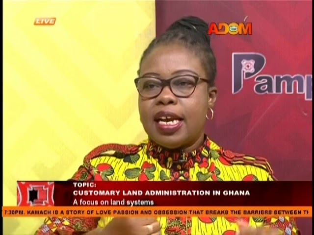 Customary Land Administration In Ghana - Pampaso on Adom TV (29-1-19)