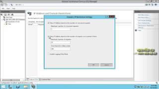 Защита IIS от DOS флуда(В данном видео рассказывается как защитить веб сервер IIS ограничив количество запросов с одного ip адреса..., 2013-12-13T07:32:14.000Z)