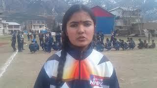 NHPC kishtwar kii tarf sai Khelo Kishtwar ka kiya programe