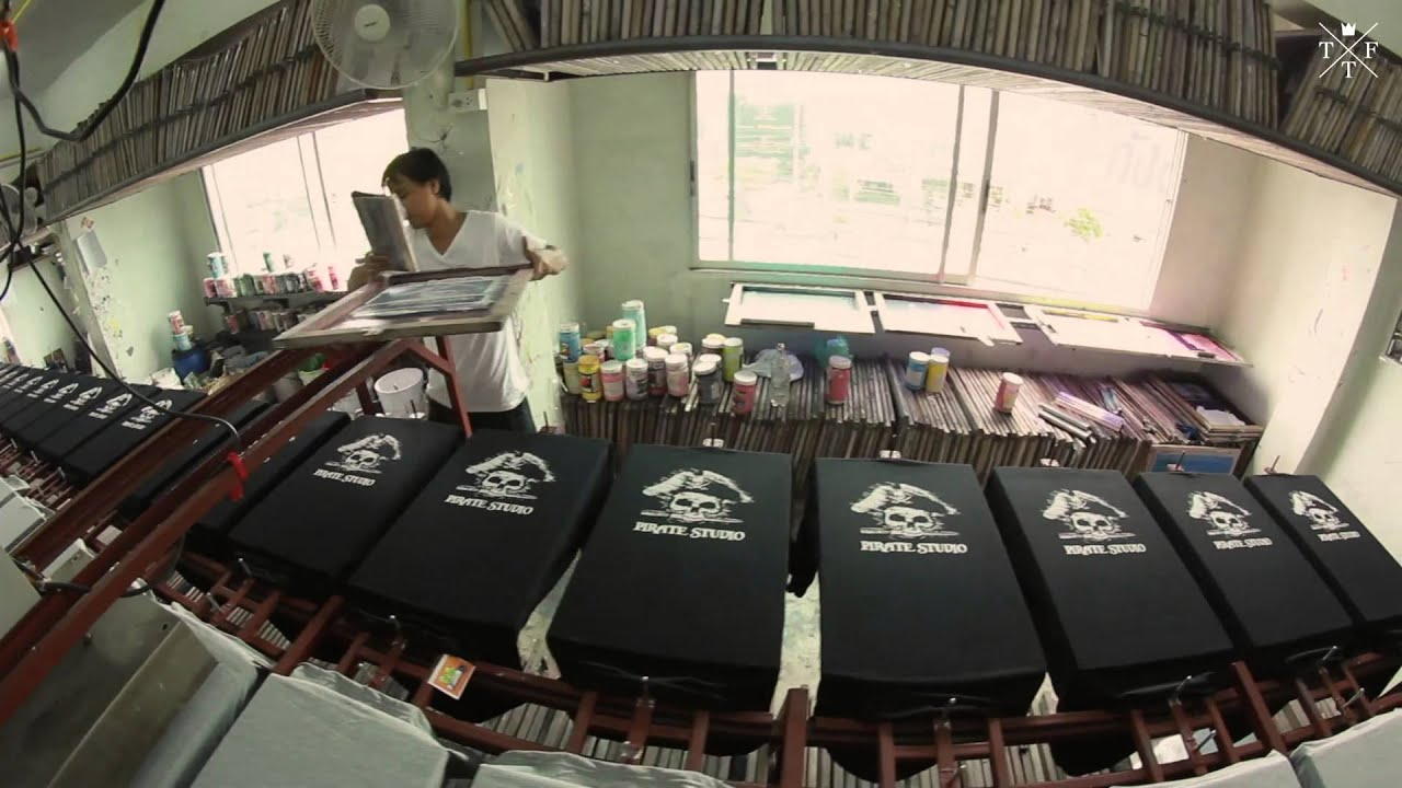 T Shirt Factory Thailand Screen Printing Thailand Thai T