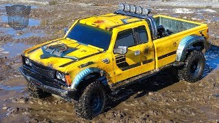 RC ADVENTURES - BUMBLEBEE-ST ROLLS OUT & GETS DiRTY for the FiRST TiME! #ToyRealism