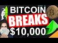 Bitcoin Breaks $10,000 (Beginning of a Bitcoin Bull Run ...