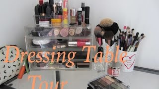 Dressing Table Tour