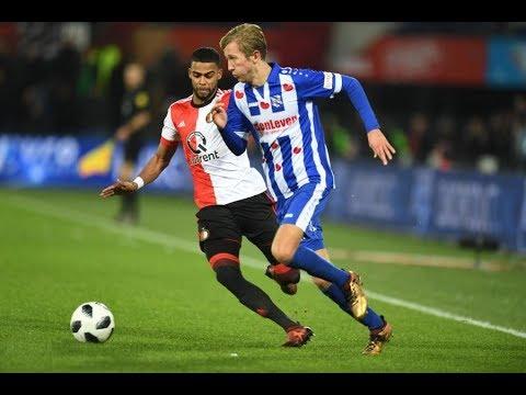 Eredivisie speelronde 16: Feyenoord - sc Heerenveen (2017/2018)
