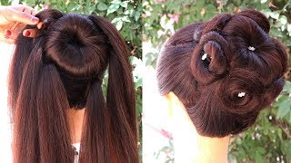 Best Hairstyle For Party 2020 || hairstyles for short hair || hair tutorial || easy hairstyles