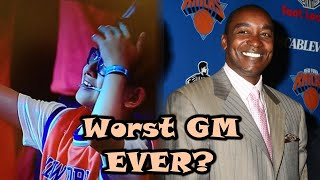 The Story Of Isiah Thomas RUINING The New York Knicks
