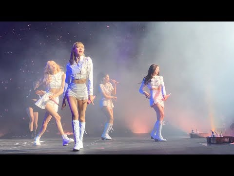 BLACKPINK LIVE in MELBOURNE AUSTRALIA ROD LAVER ARENA 4K HD 13/06/19 [PART 1]